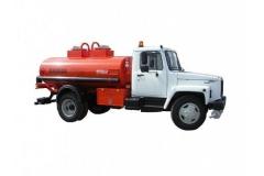 Бензовоз АТЗ 36135-011 на базе ГАЗ-3309 (2 отсека)